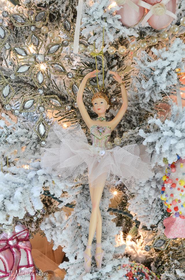 Nutcracker Suite Ballet Themed Christmas Tree-Snow Queen | 11 Magnolia Lane