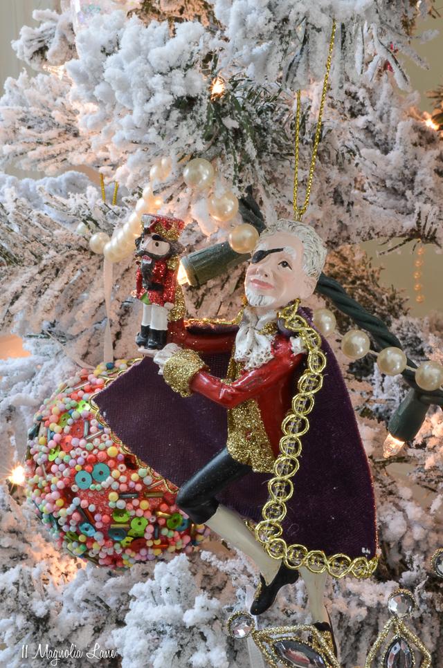 Nutcracker Suite Ballet Themed Christmas Tree-Drosselmeyer | 11 Magnolia Lane
