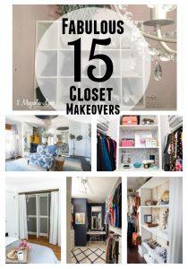 15 Fabulous Closet Makeovers | 11 Magnolia Lane