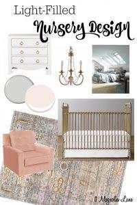 Nursery Design Board | 11 Magnolia Lane