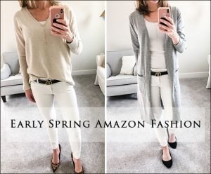Early Spring Amazon Fashion Haul