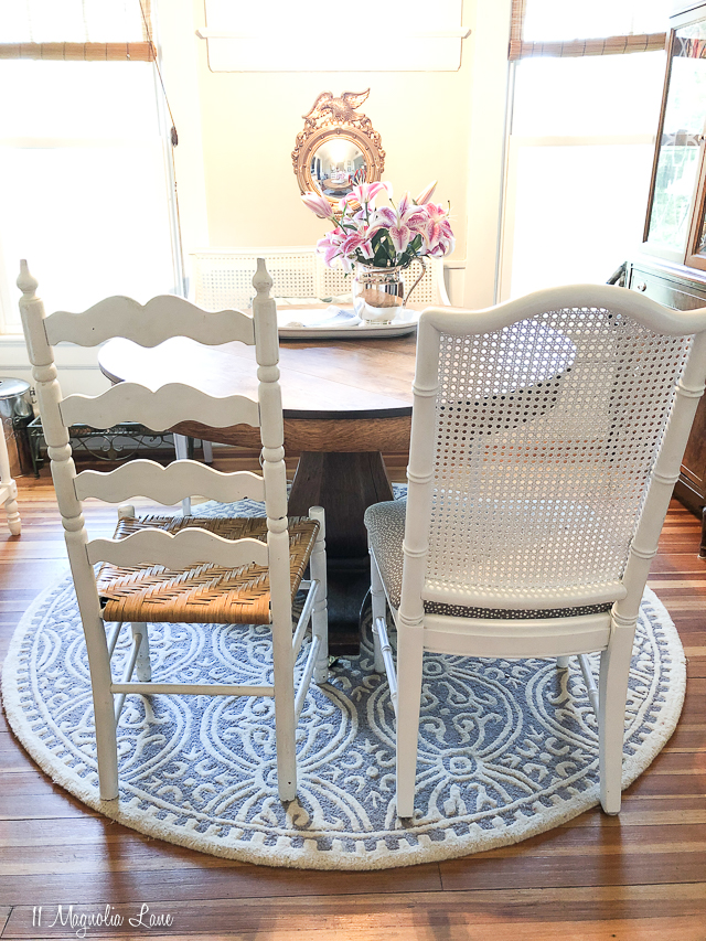 How to mix and match dining room or kitchen chairs   11 Magnolia Lane