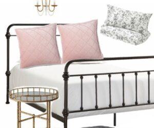 Budget Design series: farmhouse style master bedroom
