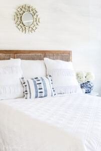 Our Summer Coastal Inspired Guest Room {Amy's New House}
