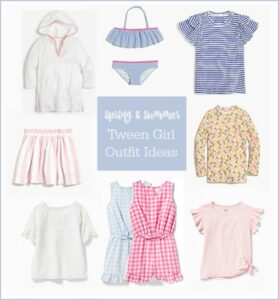 Tween/Girl Spring & Summer Fashion Picks {Or Shopping with your Daughter}
