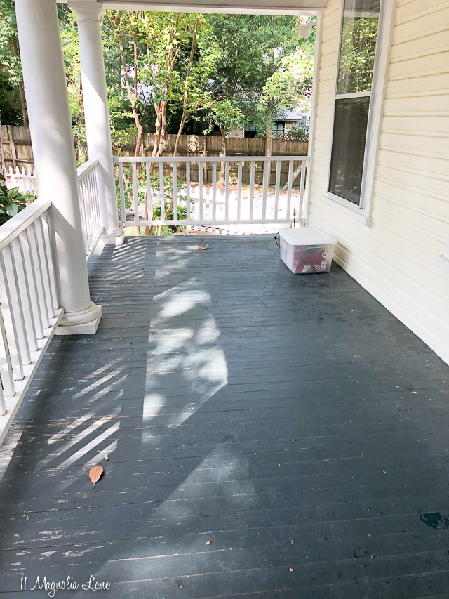 Magnolia Cottage-front porch