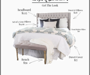 Affordable Bedroom Furniture and Decor Pieces on a Budget