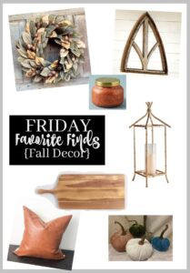 Friday Favorite {Finds Fall Decor}