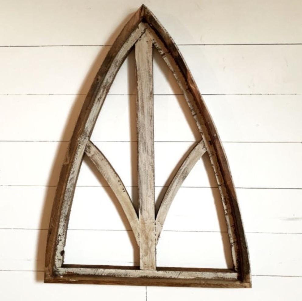 Rustic Window Arch Decor