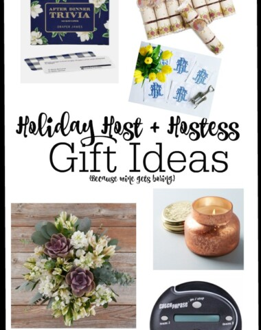 Holiday Hostess Gift Ideas for Thanksgiving and Christmas   11 Magnolia Lane