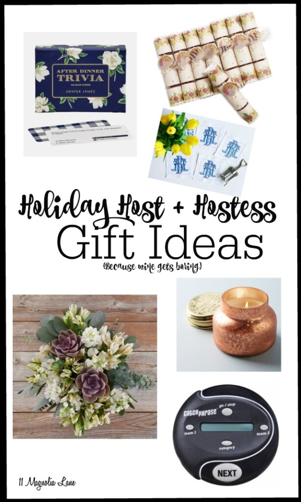Holiday Hostess Gift Ideas for Thanksgiving and Christmas | 11 Magnolia Lane