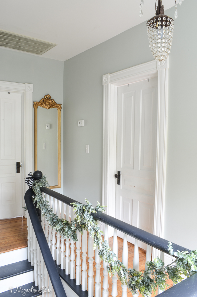How to paint a stairwell without a ladder or scaffolding   11 Magnolia Lane