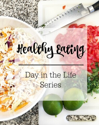 A day in the life of healthy mom