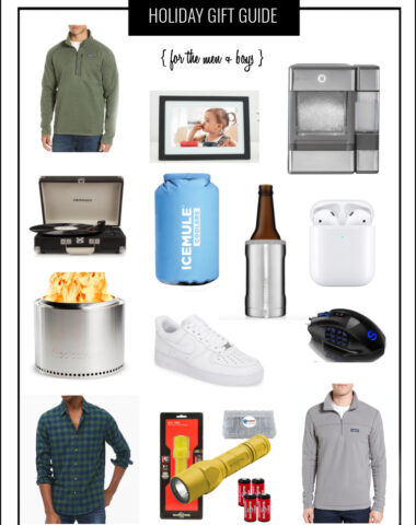 Holiday Gift Guide for the Men and Boys in your life.