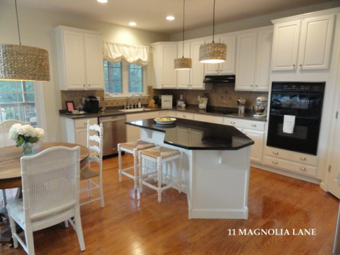 Miraculous Kitchen Redo Revealfrom Darkness To Light 11 Magnolia Lane Dailytribune Chair Design For Home Dailytribuneorg