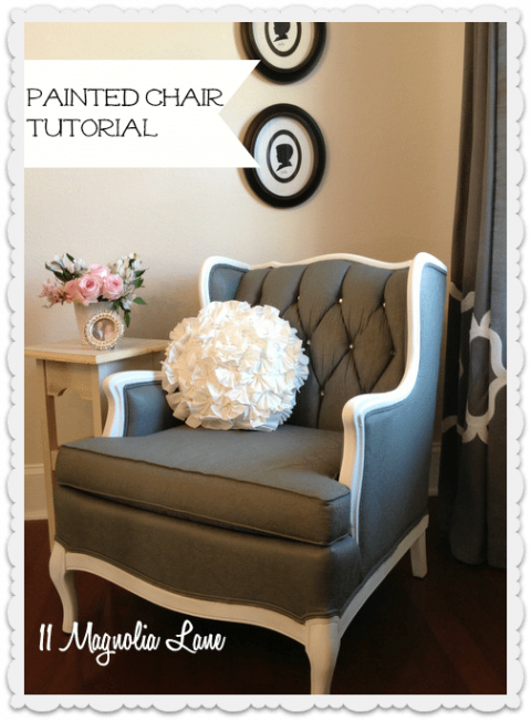 Super Tutorial How To Paint Upholstery Fabric And Completely Dailytribune Chair Design For Home Dailytribuneorg