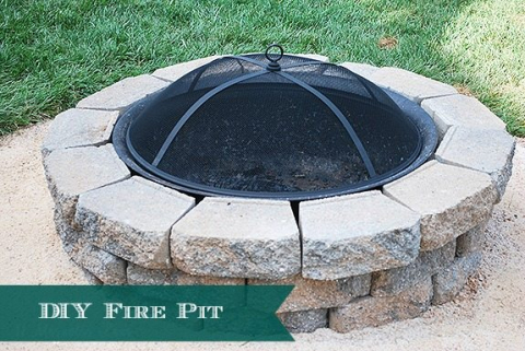Incredible How To Diy A Backyard Fire Pit Easy Weekend Project 11 Home Interior And Landscaping Analalmasignezvosmurscom