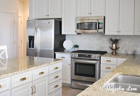 Wondrous Kitchen Makeoverreveal 11 Magnolia Lane Download Free Architecture Designs Intelgarnamadebymaigaardcom