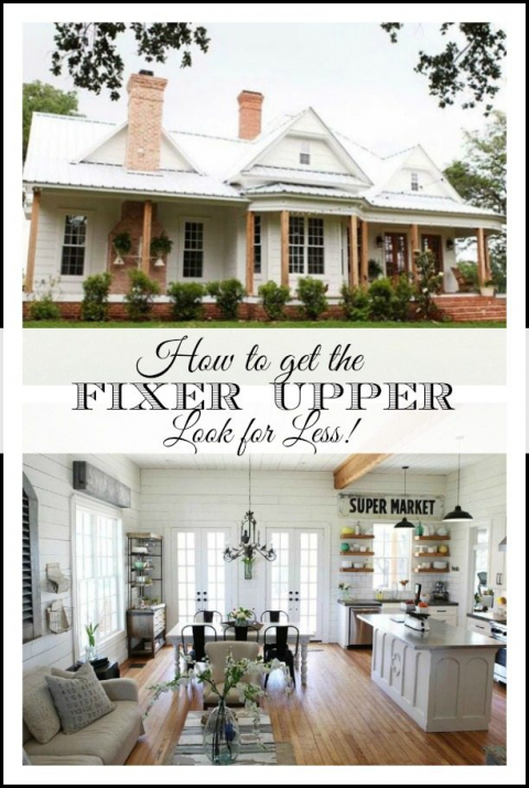 Getting the Fixer Upper Look for Less\u2013Easy Sources for