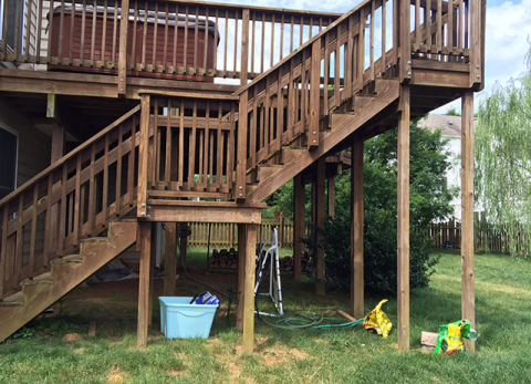 How To Conceal The E Under Your Deck In 30 Minutes Or