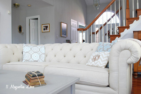 Pottery Barn Chesterfield Sofa Review And Lower Cost ...