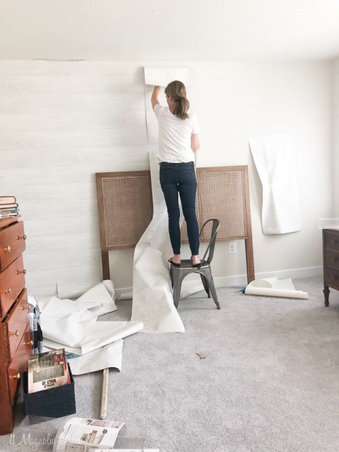 How To Get The Look Of Shiplap Walls With Peel And Stick