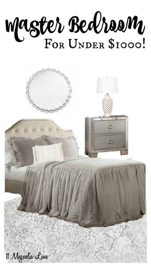 Budget Design Series: Master Bedroom Decor – 11 Magnolia Lane